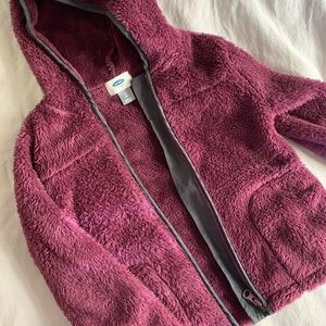 Old navy deep purple sweater